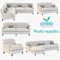 3d model sofa joybird robin