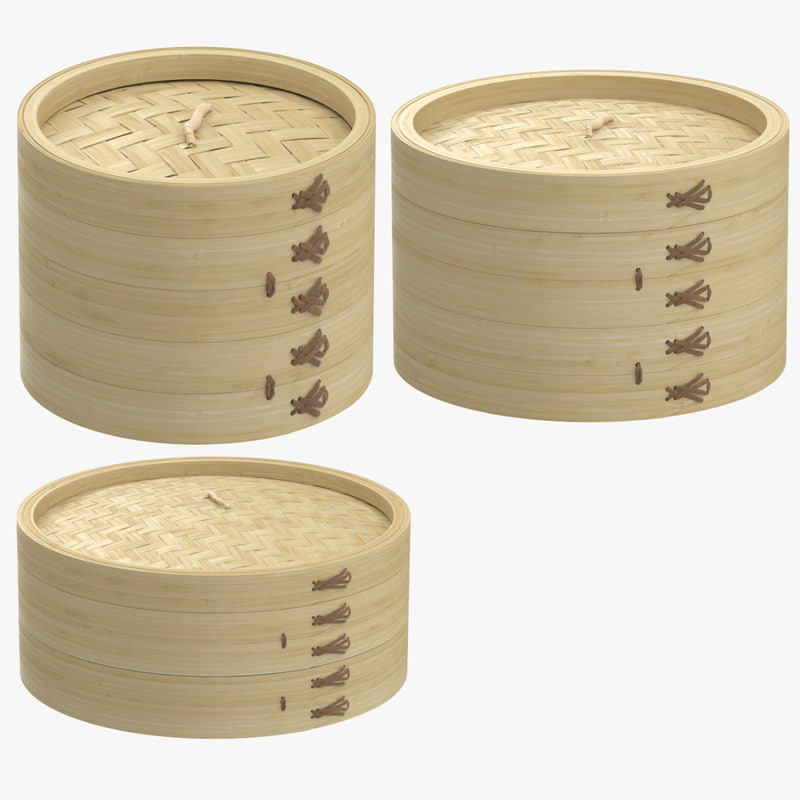 3d bamboo steamers