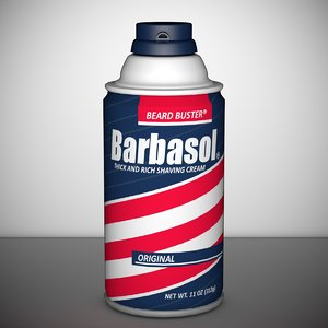 3d model of barbasol jurassic park