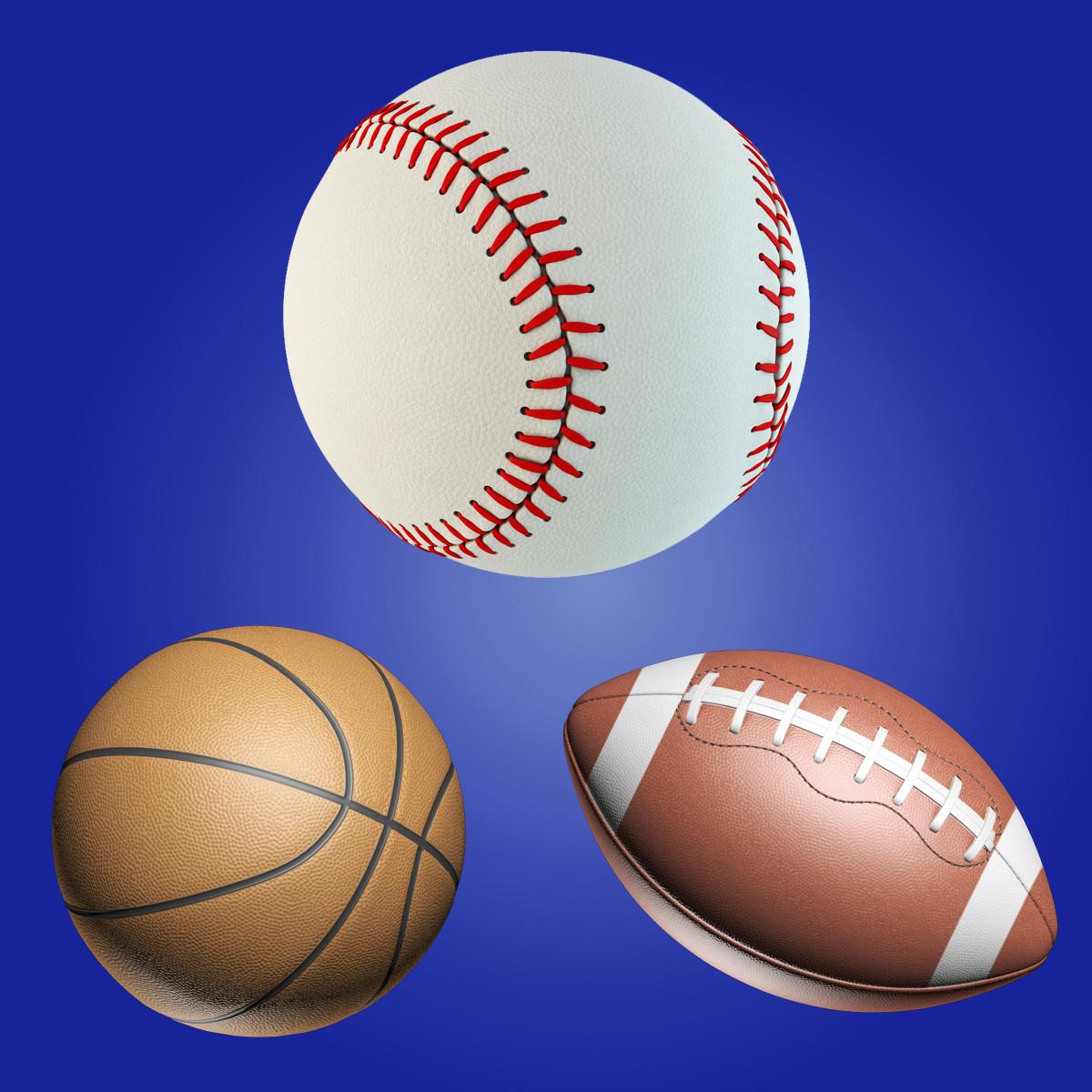baseball football ball set max
