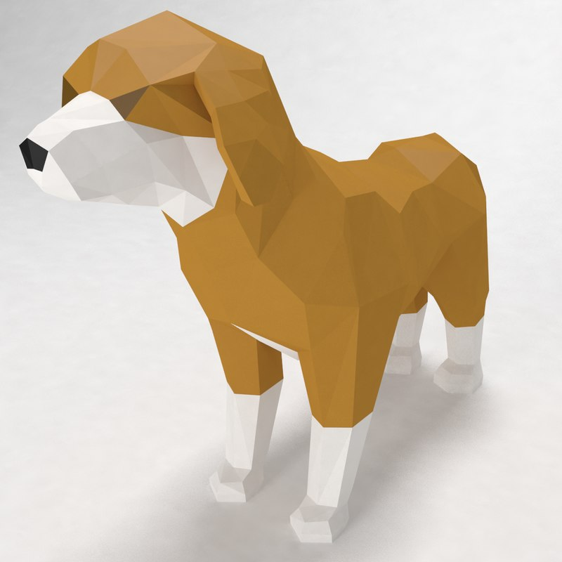 dog style 3d max