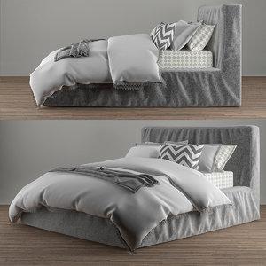 3d bed brook model