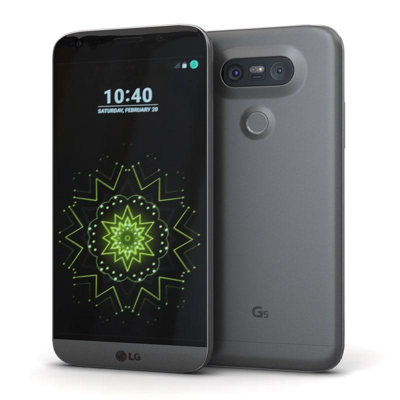 lg g5 titan 3ds