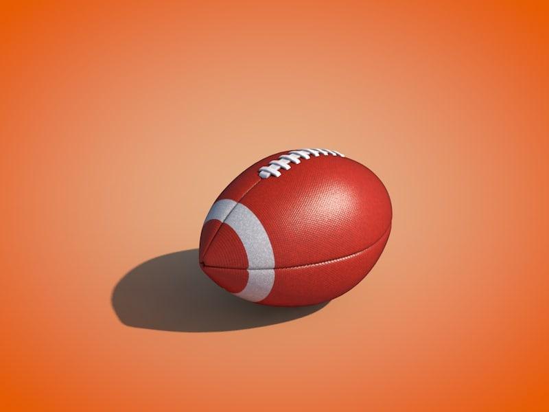 c4d football ball