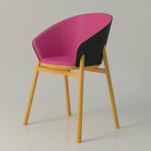 3d model jacob nitz chair