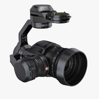 dji zenmuse x5 camera 3d 3ds