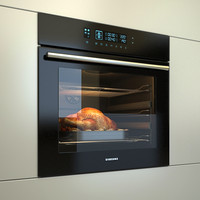 Electric oven Samsung NV70H5787CB + roast chicken with potatoes