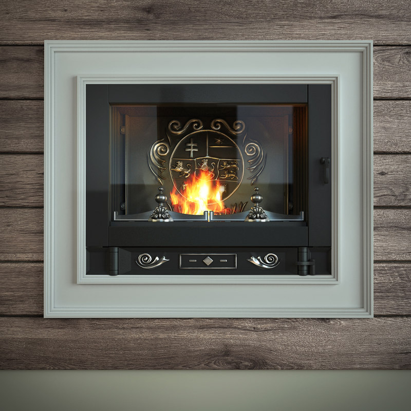 fireplace french 3d model