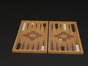 backgammon 3d 3ds