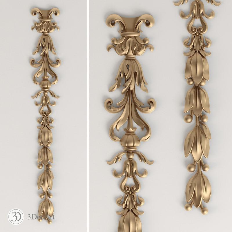carved cnc decor max