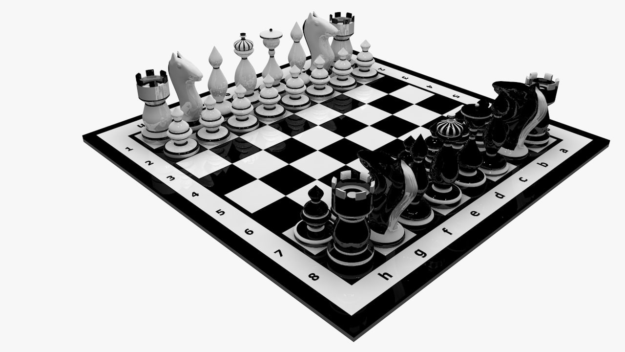 chess board c4d