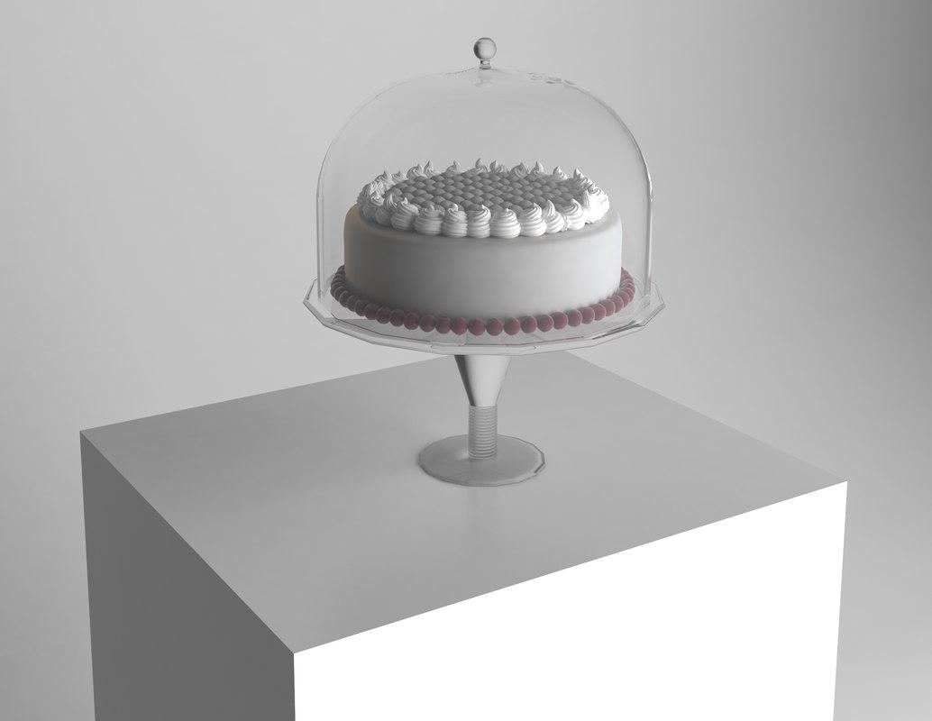 glass cake stand max