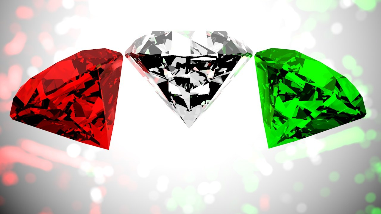 3d diamond model