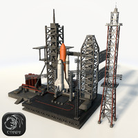 Launch Complex low poly