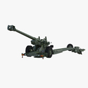 artillery 3D models