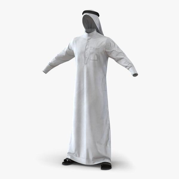traditional arab men dress max
