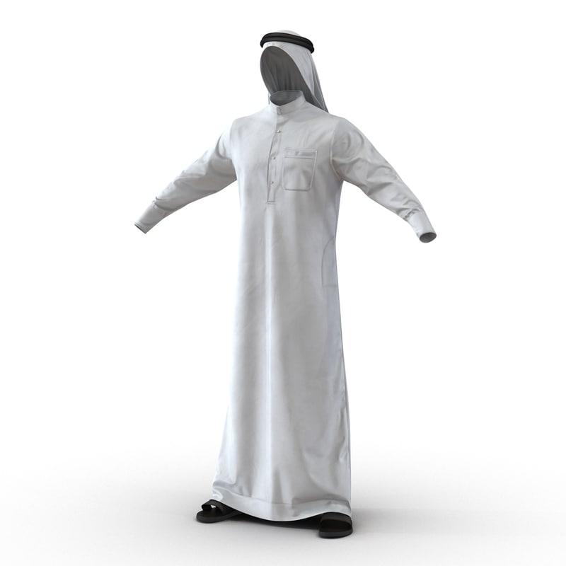 traditional arab men dress max