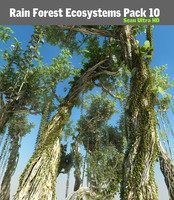 Rain Forest ecosystems Pack 10