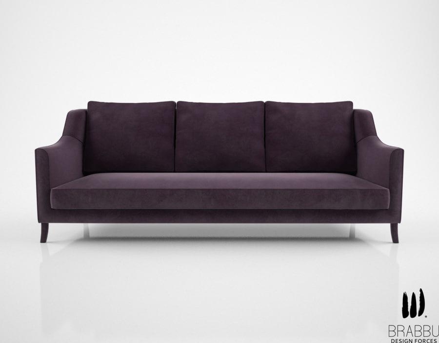 brabbu como sofa 3d model