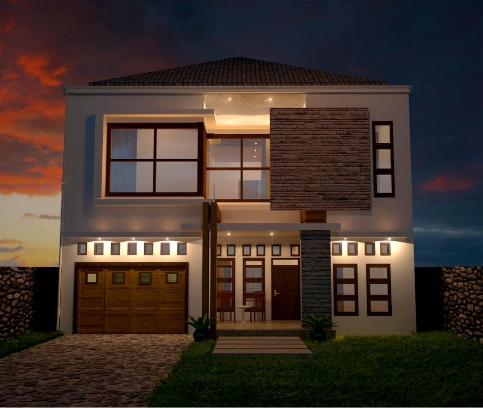house exterior 3d model