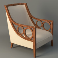 3d model maclean arm chair