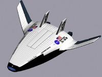X-33 spaceship