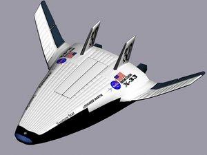 3d model x-33