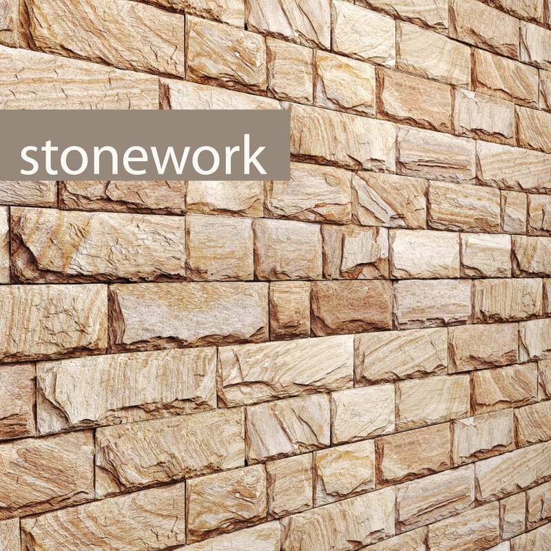 stone slate 3d max