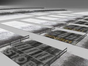 3d model roads tracks racing games