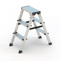 step ladder 3ds