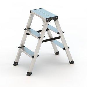 step ladder 3ds