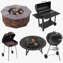 BBQ Grills and Fire Pits Collection
