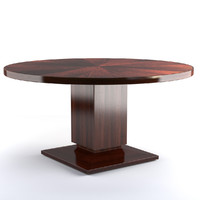 Bolier Atelier Round Dining Table 115002