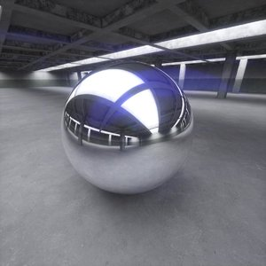 Parking Hall 360 HDRi