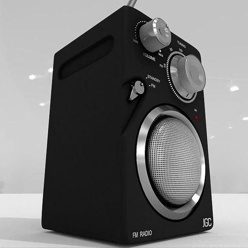 obj small radio