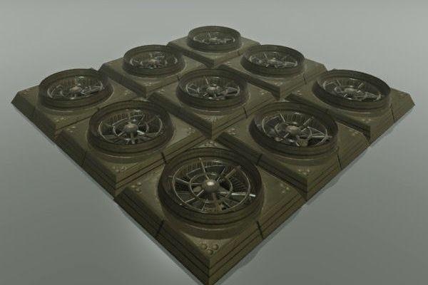 wall fan 3d model