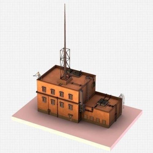 dxf futuristic ghetto building