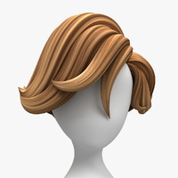 cartoon hair surfer style max