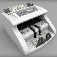 money counter 3d model
