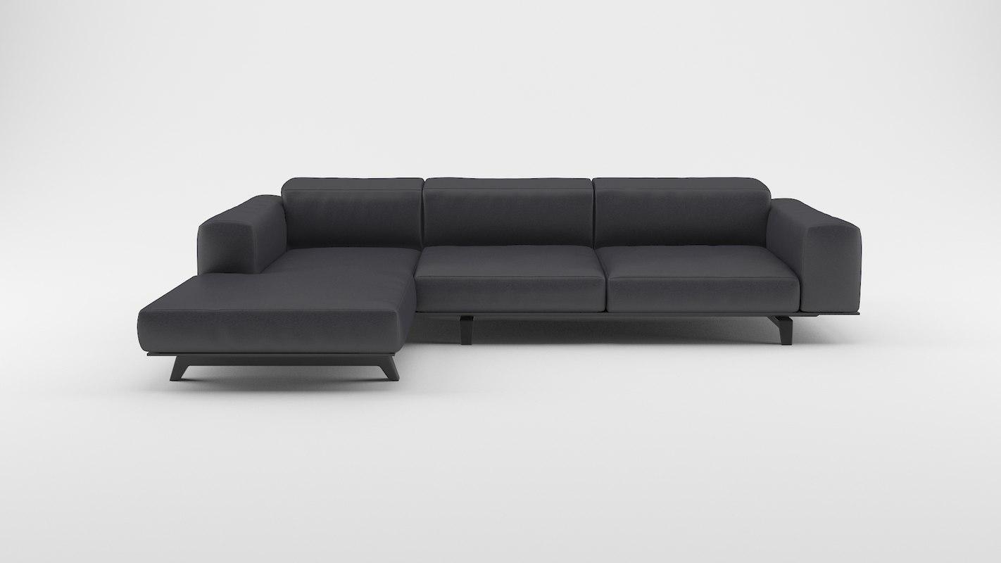 3d model sofa modern interior