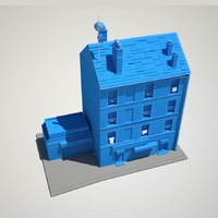 2015 saint-denis paris 3d model