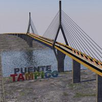 bridge tampico 3d c4d