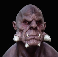 ds monster 3d model