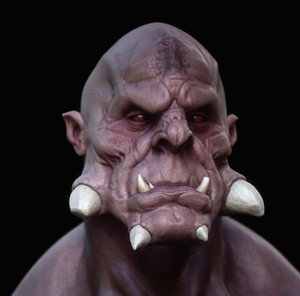 ds monster 3d model