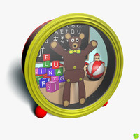 3d model of music box bear
