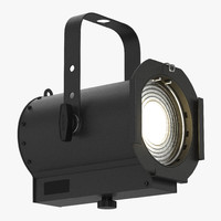 3d fresnel strand led light model