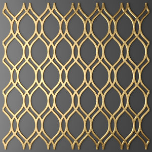 panel lattice grille max