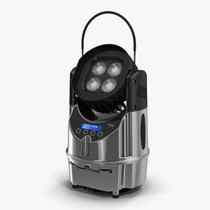portable battery powered luminaire 3d model