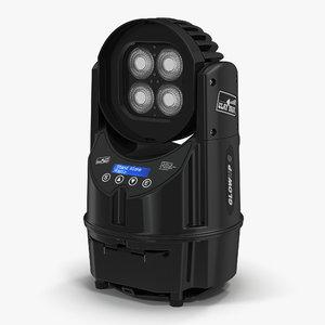 portable luminaire clay paky 3d max
