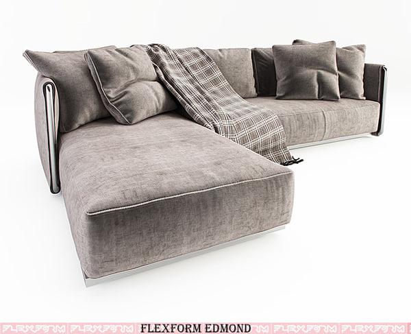 3d model of flexform edmond